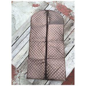 Joy Mangano Double Sided Garment Bag Expresso